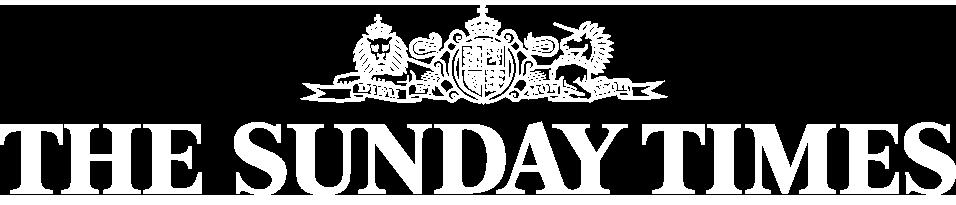 sunday times white logo